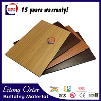 4mm Pvdf Coating House Outdoor Wall Cladding,Wood Finish Aluminum Sandwich Panels