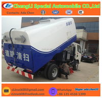 5000KG DONGFENG sweeping machines for road road brush sweeper