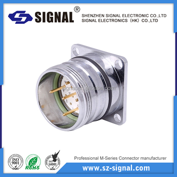 M23 circular connector ip67 waterproof military connector