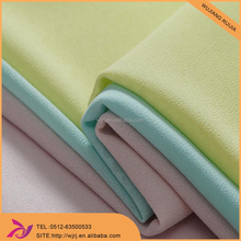 Good Drape And Soft Hand Feeling Polyester Pearl Crepe Chiffon Fabric
