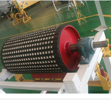 Belt Conveyor Rubber Lagging Drum Drive Head Tail Pulleys
