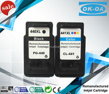 printing ink cartridge for canon pg-440 cl-441 made in china