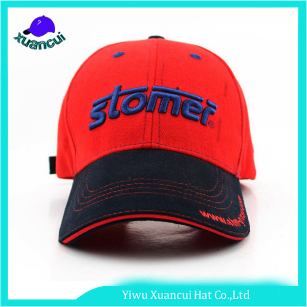 Attractive Price Wholesale Sandwich 6 Panels Caps Embroidery Advertisement Baseball Cap
