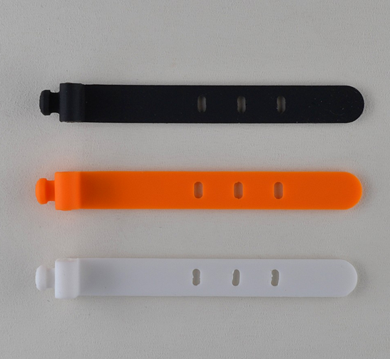 Cheap price good quality silicone cable tie from shenzhen