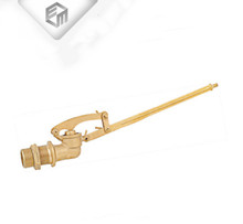 Brass tilting brass floating ball valve long stem