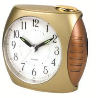 analog sweep alarm desk clock silent table clock gift item