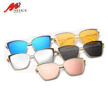 2018 Custom cat 3 uv400 sunglasses , metal sunglasses uv400