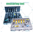 12pcs Diesel Fuel Injector Fixture Clamping Adapter Repair Kits and Common Rail Tester Bench Full Set Tool