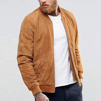 high end fashion wholesale clothing suede jackets men 2017 bomber