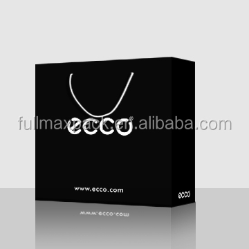 Black printed paper bag with cheap price