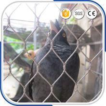 best selling stainless steel zoo rope animal wire mesh fencing factory