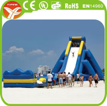 giant inflatable water slide for adult,giant inflatable slide
