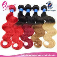 Unprocessed jakarta hair,18 inch and extension,100% human ombre hair braiding hair