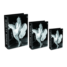 Popular Marilyn Monroe pattern home decorative storage book box