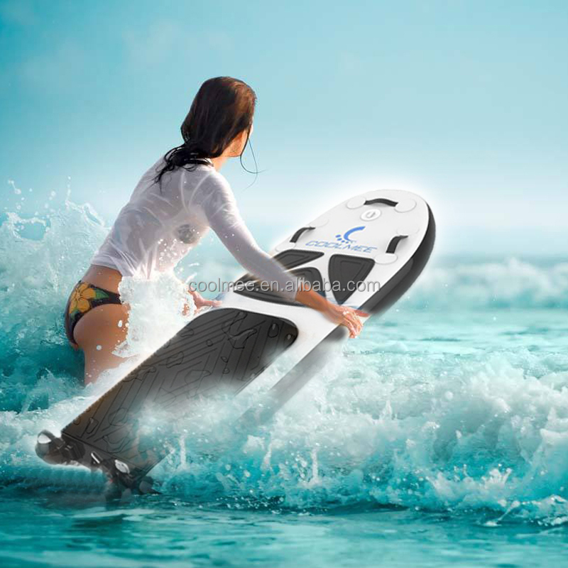 2017 new outdoor sports rechargeable inflating jetboard electric surfboard with 12KW Power