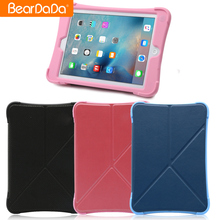 Newest Design Pu leather flip cover for ipad air 2,heavy duty for ipad air 2 silicon case