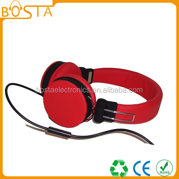 Musi best audio party hifi fancy wholesale high end headphones with mic 2016