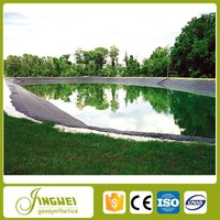 resistant chemical plastic outdoor waterproof pond liner hdpe geomembrane roll film sheet with welding