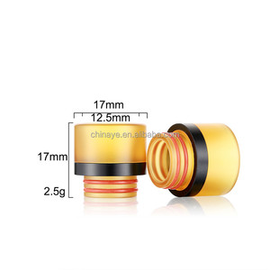 Online shop China factory ecig drip tip 2018 new arrival 810 ultem drip tip with pei and resin raw material