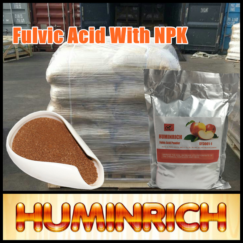 Huminrich Bio Product Compound Npk Fertilizer Plant Growth Regulator Seeds