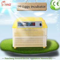 2015 best selling chiken farm equipment/ mini egg incubator with full automatic