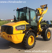 China H928 H580 ZL20 ZL16 ZL10 mini tractor wheel loader for European market with CE certificate sale