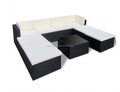 outdoor poly rattan lounge set outdoor furniture