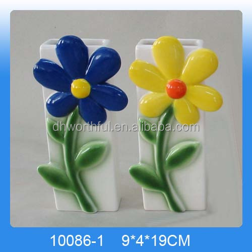 Hand-painted Ceramic Flower Wall Mounted Humidifier