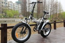 Manufactory Newest e bike 350w 500w foldable fat tire electric bike folding bicycle 20 inch RSEB507