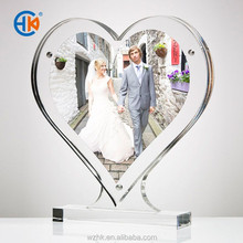 New Arrival Clear Wedding Decoration Acrylic Funny Photofunia Photo Frame