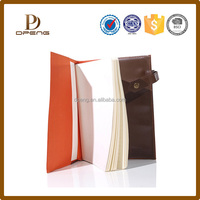 2017 Durable Leather Notebook Design For