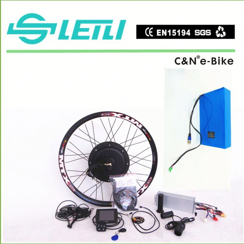 "5000w 72v Alloy Motorcycle wheel 17"" 18"" electric bike conversion kit"