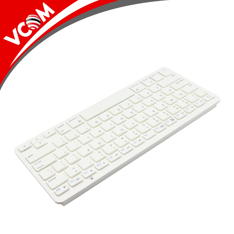 Mini bluetooth 3.0 Keyboard wireless RoHs 78 keys for Laptop Macbook