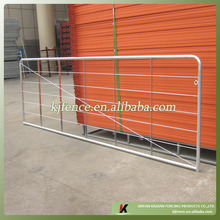 Metal farm fence gate