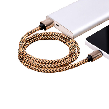 2019 Braided Nylon Aluminum Fast Speed 1Meter Usb Type C Cable , High Quality Micro Usb Cable
