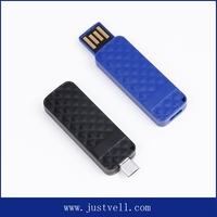 Plastic usb pendrive 64 gb, otg usb flash drive for smart phone and computer