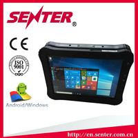 Strong battery life Bluetooth OEM Senter ST935 window10 barcode scanner Best 10 inch 3G sim card slot cheap rugged tablet pc
