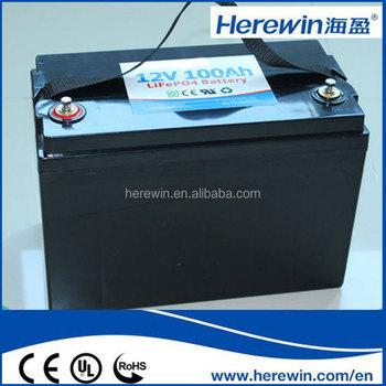 100ah 12 Volt Lifepo4 Battery 12v 100ah Deep Cycle