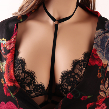 New Design Self Bondage Sexi Girl Wear Lace Bra Ladies Underwear Bralette Stylish Lingerie S0003