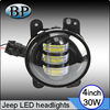 In stock Black 4inch 30w Motorcycle LED Bulbs Headlight used cars Harley-Davidson