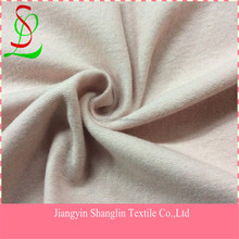 Knitted wool fabric for overcoat/garment