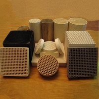 bulk honeycomb ceramic plates
