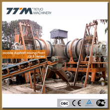 80t/h portable asphalt plant, mobile asphalt mixing plant, portable concrete batch plant