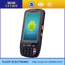 Support 3G/4G/Bluetooth/WIFI Quad-core 1.3G IP65 Standard 2G RAM 4.0 inch touch android 1D/2D barcode scanner PDA