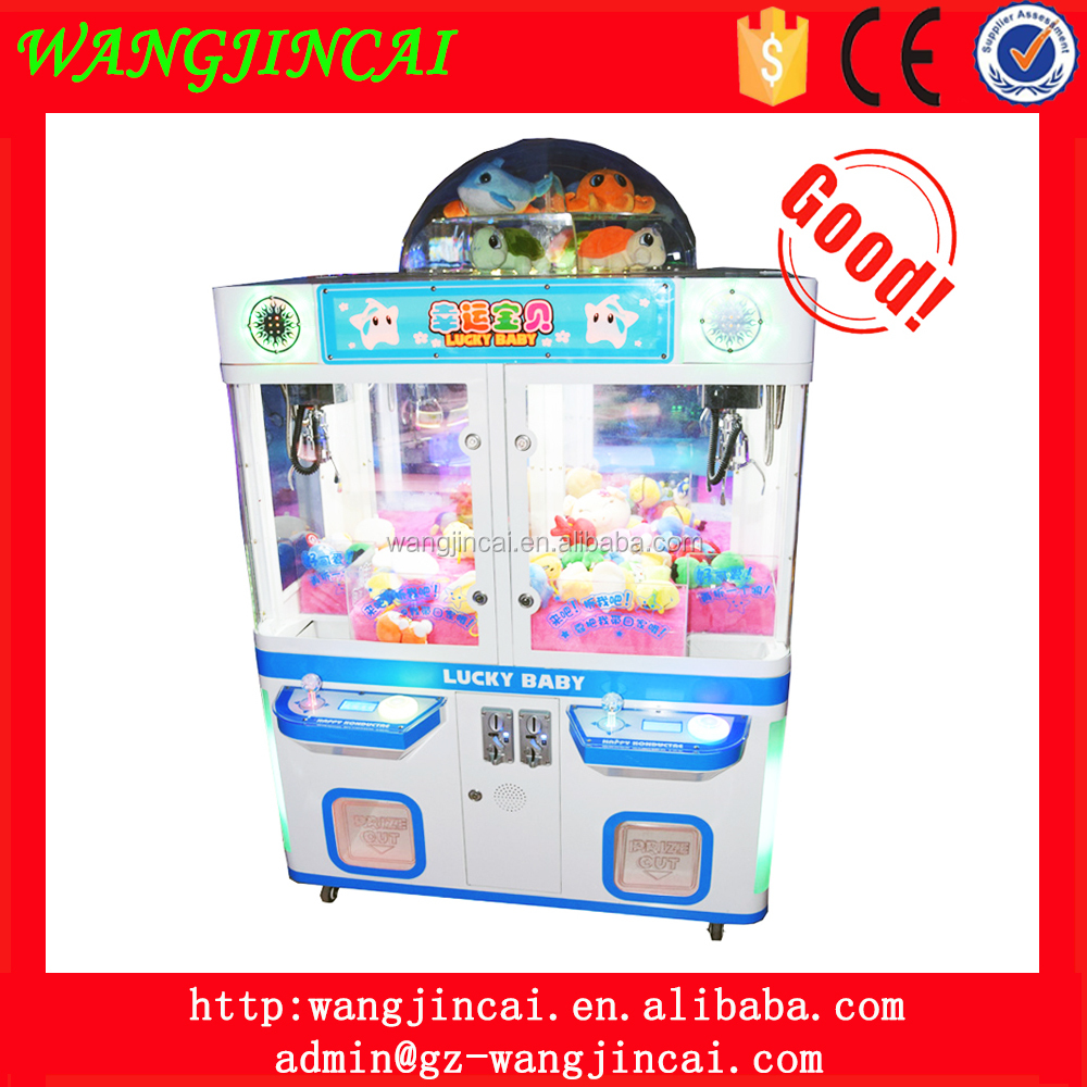 coin operated plush toys catcher prize doll machine game room lucky baby toy gift claw crane vending game machine