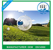 Professional manufacturer body zorb ball, inflatable bubble ball, inflatable zorb ball