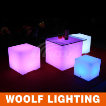 led cubes waterproof light chair outdoor furniture