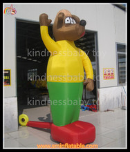 Cute design inflatable dog cartoon for advertising,inflatable advertisemen,cartoon dog
