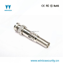 cctv screw bnc connector with spring