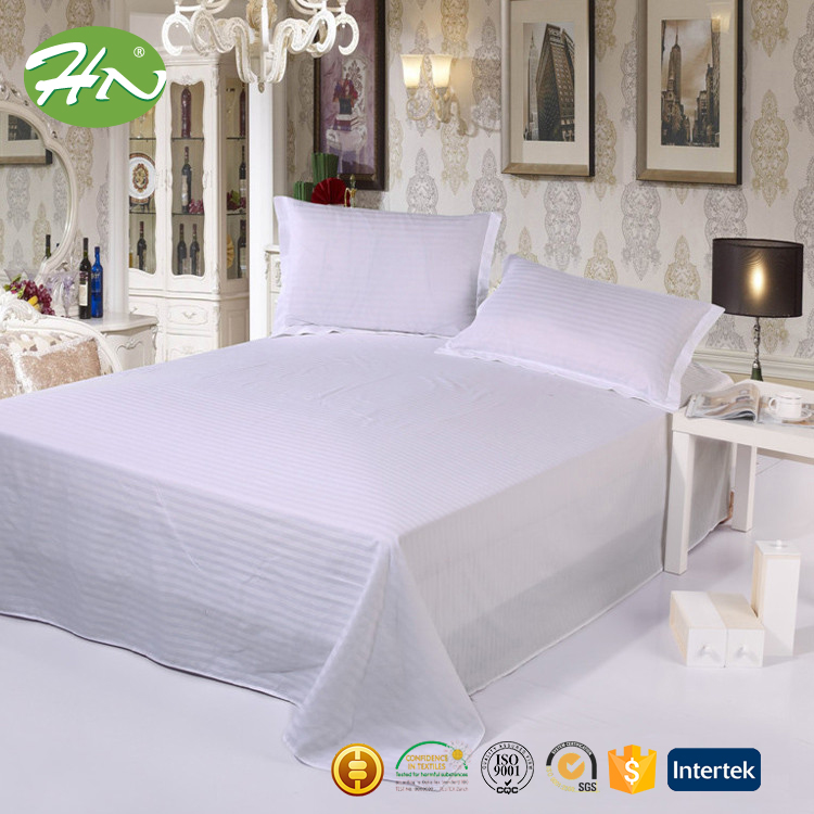 cotton hotel flat bed sheet white cheap